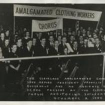 Amalgamated Clothing Workers 1940s