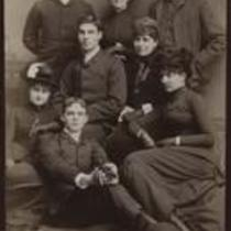 Group portrait with Mildred French