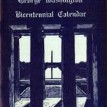 George Washington Bicentennial calendar