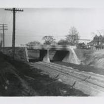 Adelbert Rd at Nickel Plate Ry 1910s